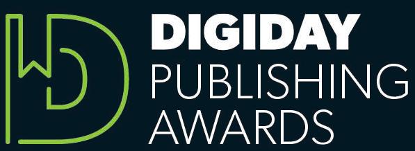 Digiday Publishing Award Nomination
